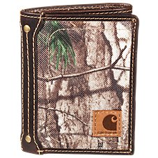 Carhartt Realtree Xtra Trifold Wallet for Men