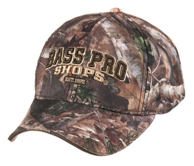 Bass Pro Shops 3D Logo Hunting Cap for Men - TrueTimber Kanati thumbnail