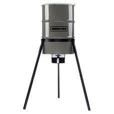 Moultrie Pro Magnum 55-Gallon Tripod Game Feeder