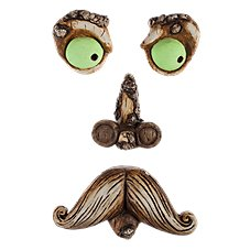 Land & Sea Mr. Mustache Tree Face