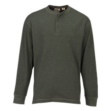 RedHead Tower Rock Waffle Henley for Men
