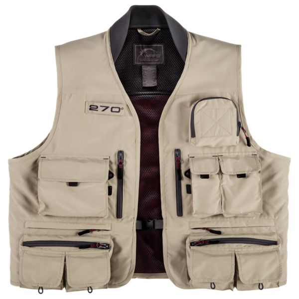 White River Fly Shop 270º Fly Vest - Taupe - S