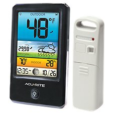 AcuRite Wireless Weather Forecaster with Color Display