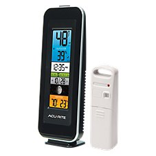 AcuRite Color Digital Indoor/Outdoor Temperature and Humidity Monitor