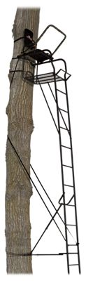 Big Game Treestands The Alpine Ladder Stand - Black - 22' thumbnail