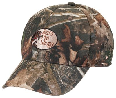 Bass Pro Shops Silent-Hide Big Outdoorsman Camo Hunting Cap with RedHead  Logo - TrueTimber Kanati 5921062d692c