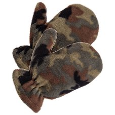 Grand Sierra Camo Polar Fleece Mittens for Toddlers