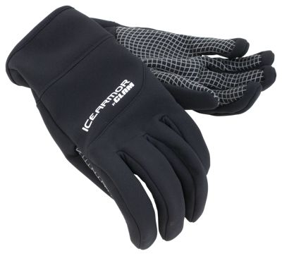 IceArmor by Clam Link Softshell Gloves - Black - XL
