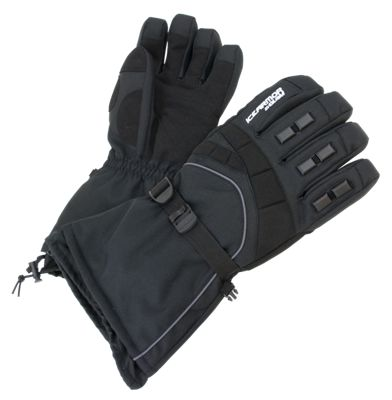IceArmor by Clam Extreme Gloves - Black - XL