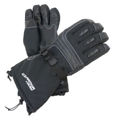 IceArmor by Clam Renegade Gloves - Black - S