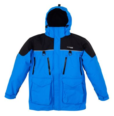 IceArmor by Clam Edge Parka for Men – Blue/Black – L
