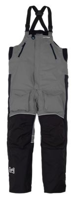 IceArmor by Clam Edge Bib for Men - Charcoal/Black - M