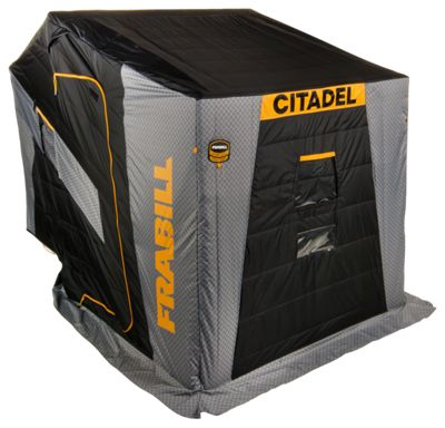 Frabill Citadel Insulated Ice Shelter - Combo Case Bench