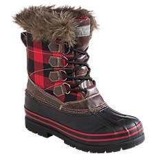 Natural Reflections Lumber Jill Insulated Pac Boots for Ladies