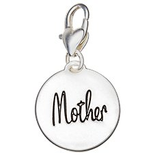 Amanda Blu Heartfelt Emotions Mother Child/Relationship Clip-On 2-Sided Medallion