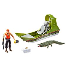 Bass Pro Shops TrueTimber Airboat Alligator Play Set for Kids