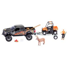 Bass Pro Shops Deluxe Licensed Ford Raptor Hunting Adventure Truck Play Set for Kids