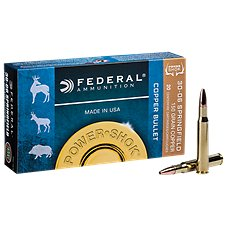Federal Power Shok Copper Rifle Bullet