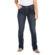 Natural Reflections Straight Leg Jeans for Ladies