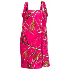 Bass Pro Shops Camo Fleece Bath Wrap for Ladies