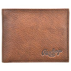 Rawlings Triple Play Bifold Leather Wallet for Men