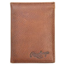 Rawlings Triple Play Leather L Bifold Wallet for Men