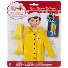 The Elf on the Shelf Claus Couture Collection Caroling in the Raincoat