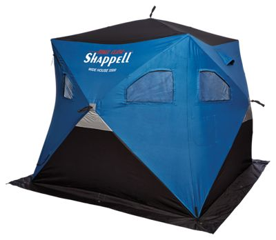 Shappell Wide House 5500 Hub Ice Shelter