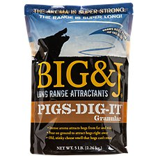 Big & J PIGS-DIG-IT Granular Wild Hog Attractant