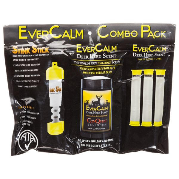 ConQuest EverCalm Deer Herd Scent and Stink Stick Combo Pack thumbnail