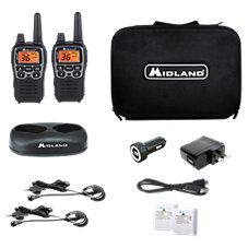 Midland T77VP5 X-Talker GMRS Handheld 2-Way Radio Combo