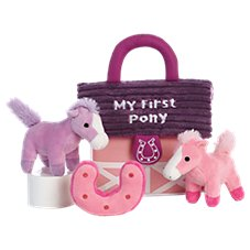 Bass Pro Shops My First Pony Baby Talk Interactive Plush Play Set for Babies