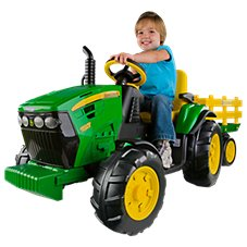 Peg-Perego John Deere Ground Force Tractor for Kids