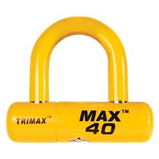 Trimax Motorcycle Disc Cable U-Lock