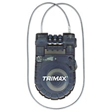 Trimax Trimaflex Retractable Cable 3-Digit Combination Lock