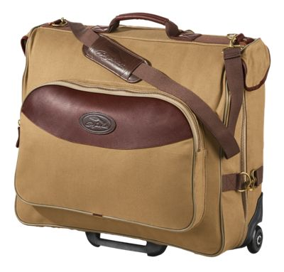 Bob Timberlake Luggage Collection Wheeled Garment Bag Teak