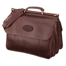 Bob Timberlake Luggage Collection Double-Sided Leather Briefcase