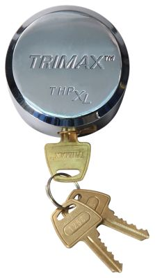 Trimax Hockey Puck Internal Shackle Universal Fit Door Lock by