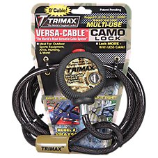 Trimax Versa-Cable Braided Steel Cable Lock System