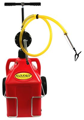 FLO-FAST Professional Model Pump, Gasoline Container and Cart System by