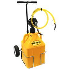 FLO-FAST Professional Model Pump, 15-Gallon Diesel Fuel Container and Cart System