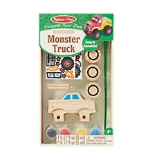 Melissa & Doug Decorate-Your-Own Monster Truck Craft Kit