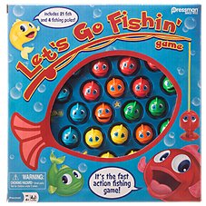Pressman Let's Go Fishin' Motorized Game