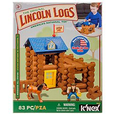 K'Nex Lincoln Logs Horseshoe Hill Station