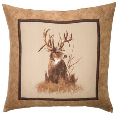 King Of Bucks Deer Throw Pillow Bass Pro Shops