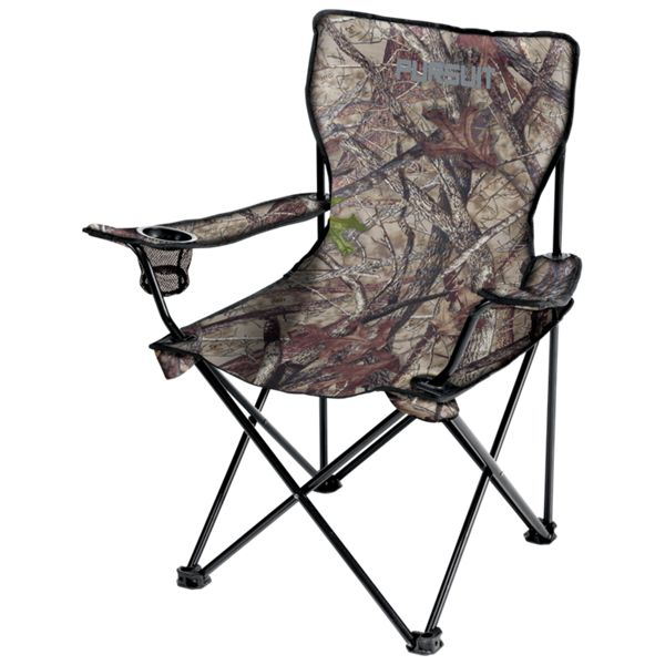 Pursuit Camo Collapsible Hunting Armchair