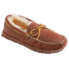 Minnetonka Moccasin Moose Moccasin Slippers for Men