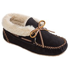 02496069445a Minnetonka Moccasin Chrissy Bootie Slippers for Ladies