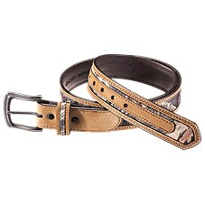 RedHead Leather Edged Camo Belt for Men