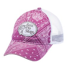 Bass Pro Shops Bandana Print Cap for Ladies